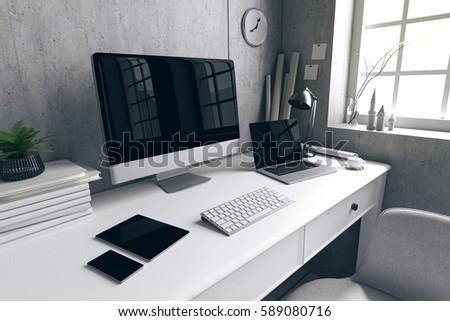 Office Desktop Computer