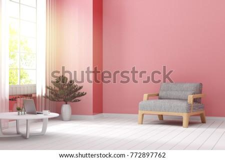 3 D Rendering Illustration Relaxing Zone Living Stock Illustration ...