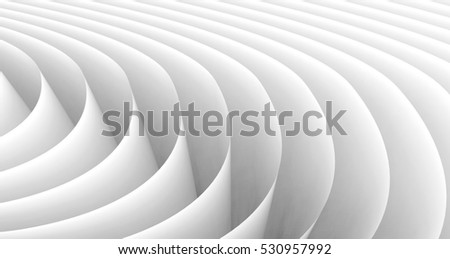 3D rendering wavy paper sheets, paper texture background for design