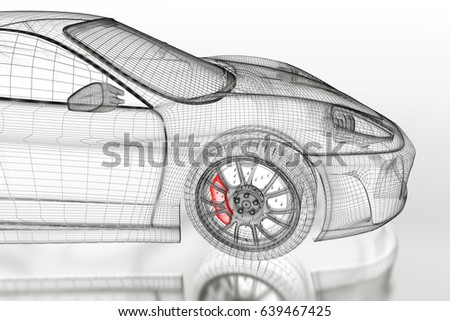 3d sport car vehicle blueprint model stock illustration 639467425 3d sport car vehicle blueprint model stock illustration 639467425 shutterstock malvernweather Choice Image