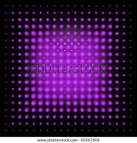 3D spotted background (violet set)