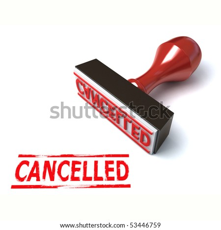 3d stamp cancelled