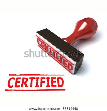 3d stamp certified