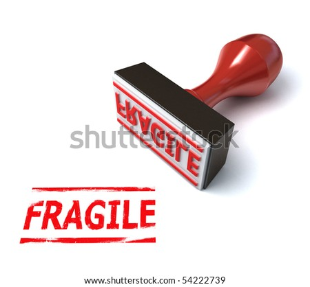 3d stamp fragile