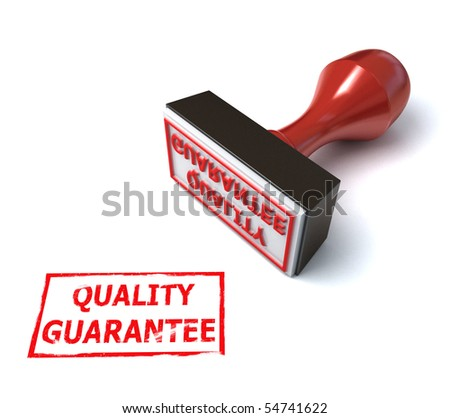 3d stamp quality guarantee