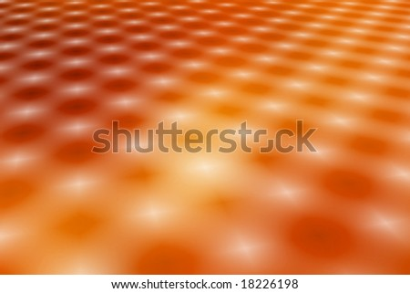 3D stylized abstract background