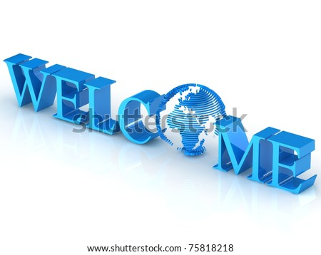 3d  welcome