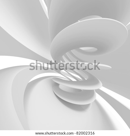 3d White Background - stock photo