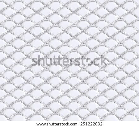 3D White Water color pattern waves about Thai Art modern design, Abstract Background relief  - stock photo