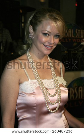 16 December 2004 - Hollywood, California - Charlotte Ross. The premiere of 'Meet The Fockers' at the Universal Amphitheatre Universal Studios in Hollywood.  - stock photo
