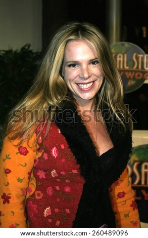 16 December 2004 - Hollywood, California - Devon Odessa. The premiere of 'Meet The Fockers' at the Universal Amphitheatre Universal Studios in Hollywood.  - stock photo