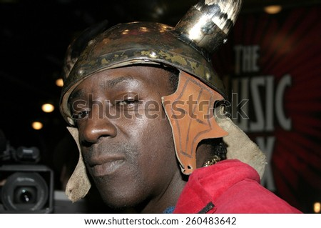 17 December 2004 - Hollywood, California - Flava Flav. 9th Annual Multicultural Prism Awards at the Henry Fonda Theater in Hollywood.