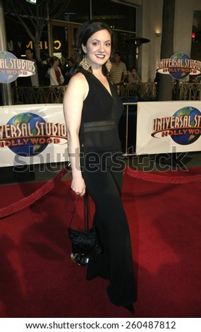 16 December 2004 - Hollywood, California - Kali Rocha. The premiere of 'Meet The Fockers' at the Universal Amphitheatre Universal Studios in Hollywood.  - stock photo