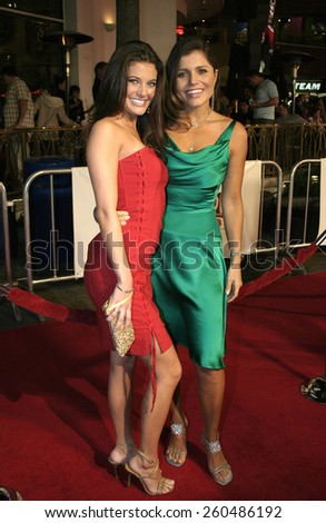 16 December 2004 - Hollywood, California - Kate Koth and Mindy Burbano-Stearns. The premiere of 'Meet The Fockers' at the Universal Amphitheatre Universal Studios in Hollywood.  - stock photo