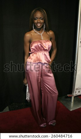 17 December 2004 - Hollywood, California - Nzinga Blake. 9th Annual Multicultural Prism Awards at the Henry Fonda Theater in Hollywood.  - stock photo