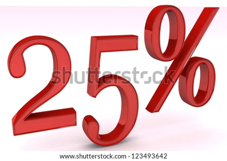 25% discount