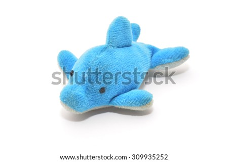 dolphin toy  - stock photo