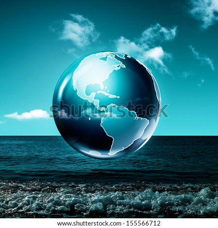 Earth. Abstract environmental backgrounds - stock photo