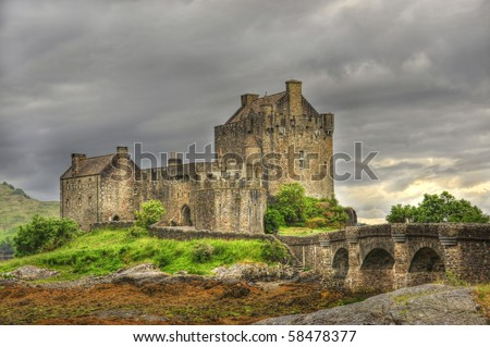 4 Eilean Donan Castle.  one of the most iconic images of Scotland,
