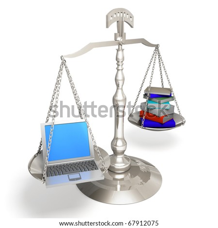 eLearning concept - stock photo