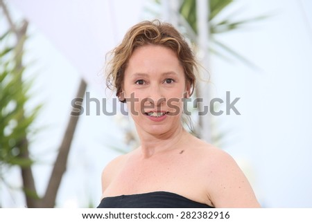 Emmanuelle Bercot attends the 'La Tete Haute' ('Standing Tall') photocall during the 68th annual Cannes Film Festival on May 13, 2015 in Cannes, France. - stock photo