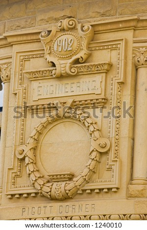 1902 engineering - stock photo