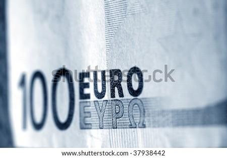 100 euro - stock photo