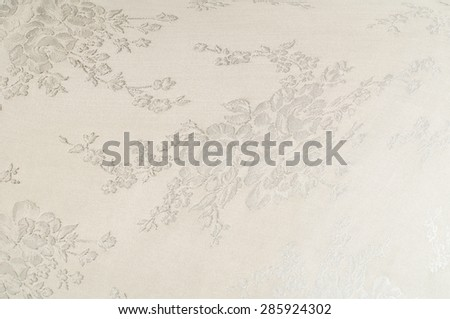 Fabric silk texture, painted with the colors of roses.  abstraction - stock photo