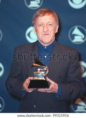 24FEB99: Chieftans singer PADDY MOLONEY at the 41st Annual Grammy Awards in Los Angeles.  Paul Smith / Featureflash