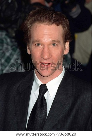 09FEB97:  Politically Incorrect star BILL MAHER at the American  Comedy Awards.    Pix: PAUL SMITH
