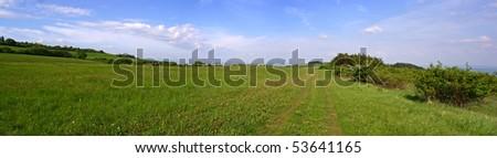 field path - stock photo