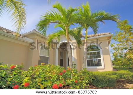 Florida living - stock photo