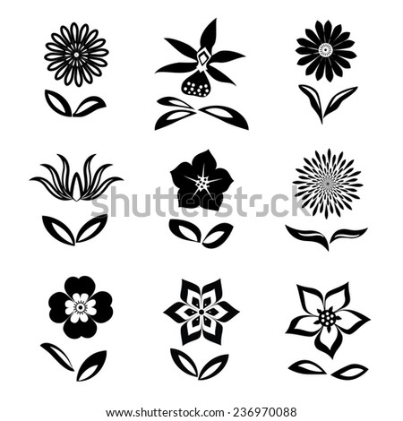 Flowers Text Symbol Choice Image Free Symbol Design Online