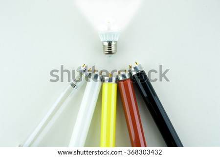 Fluorescent Lamps and LED lamp