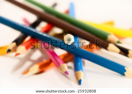 focus on the pencil