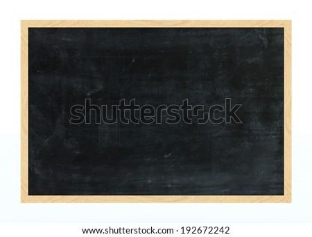 Framed Chalkboard - stock photo