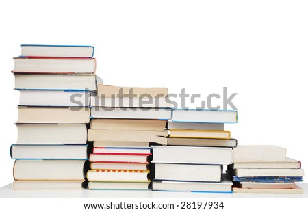"""frequency"" books in university - stock photo"
