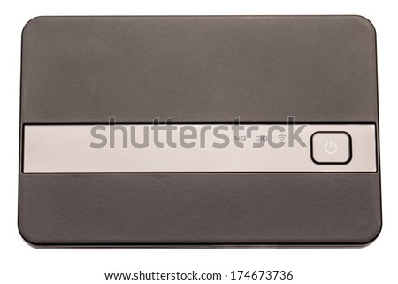 3G mobile wireless USB router - stock photo