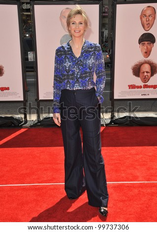"""Glee"" star Jane Lynch at the world premiere of her new movie ""The Three Stooges"" at Grauman's Chinese Theatre, Hollywood. April 7, 2012  Los Angeles, CA Picture: Paul Smith / Featureflash"
