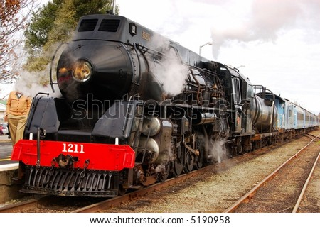 """Gloria"" 1939 vintage Steam Locomotive ""J"" Class (UK) - stock photo"