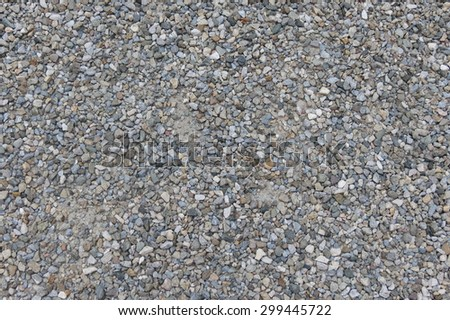 gravel texture useful as a background - stock photo