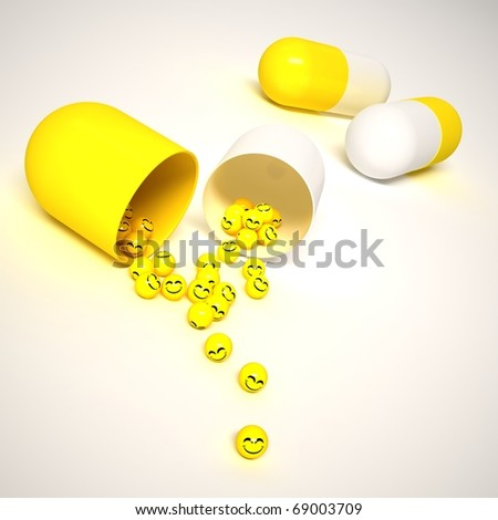 3 green caps and tab in background - stock photo