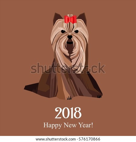 Cute Cartoon Yorkie Stock Images, Royalty-Free Images & Vectors  Shutter...
