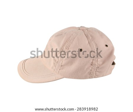 Hat Isolated on White Background - stock photo