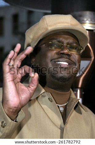 "03/13/2005 - Hollywood - Bernie Mac at the ""Guess Who"" Premiere at the Graumann's Chinese Theatre."