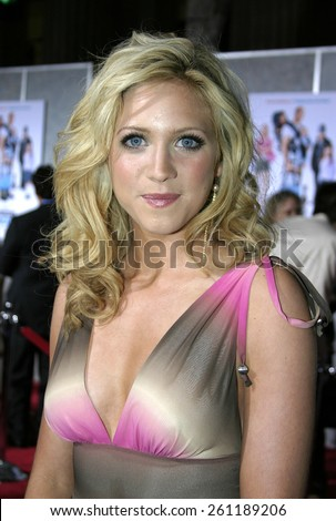 """03/01/2005 - Hollywood - Brittany Snow at """"The Pacifier"""" Los Angeles Premiere at the El Capitan Theater. - stock photo"""