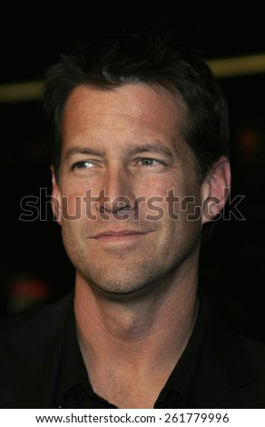"""03/23/2005 - Hollywood - James Denton at the """"Miss Congeniality 2: Armed and Fabulous"""" Premiere at the Chinese Theatre. - stock photo"""