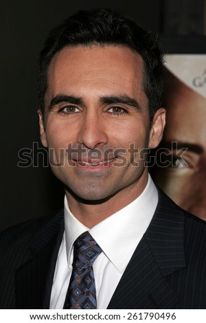 "04/17/2006 - Hollywood - Nestor Carbonell attends the Los Angeles Premiere of ""The Lost City"" held at the Arclight Cinemas in Hollywood, California, United States."