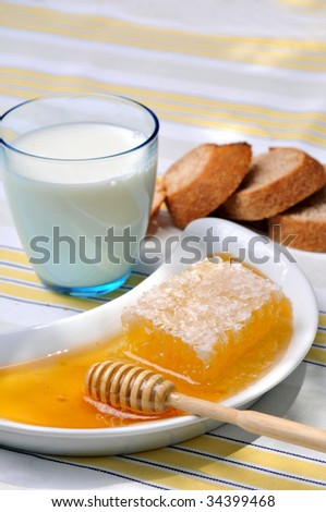 honey with milk