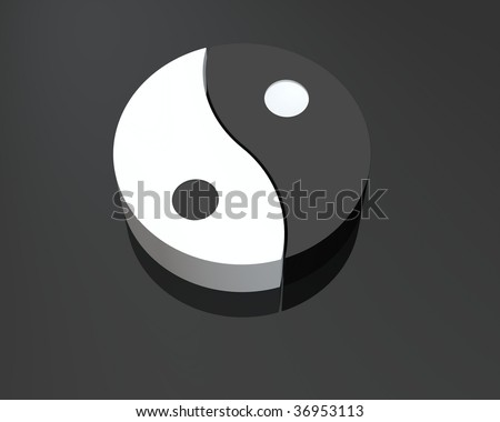 i-ching - stock photo